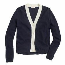 NWT - J.CREW - Demylee™ Cardigan Sweater - size XS or S or M (Navy) $297