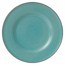 NEW Gordon Ramsay by Royal Doulton Union Street Cafe Dinner Plate in Blue, Cream