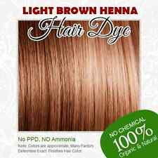 Light Brown Henna Hair Dye - 100% Organic and Chemical free Henna for Hair
