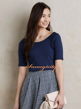 NEW ANTHROPOLOGIE Suki Tee sz S or M Great Basic Top Flattering and Comfortable
