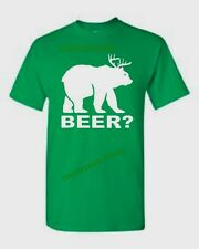 Bear Deer Beer? Funny College Party Drinking T-Shirt All Sizes & Colors