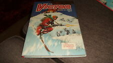 THE VICTOR BOOK FOR BOYS 1977 ANNUAL  -  D C THOMSON - UNCLIPPED GOOD CONDITION