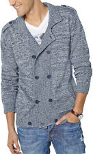 La Redoute Mens Fashionable Double-Breasted High Neck Cardigan