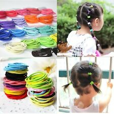 100pcs elastic rubber band hair band hair rope headdress wholesale EFFU