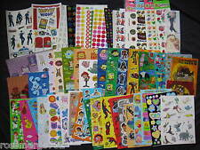 Sandylion Stickers Disney Movie Police Dora Spiderman Halloween Blues Clues Pooh