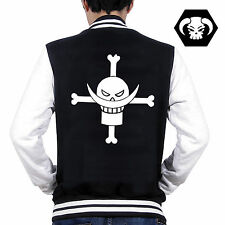 Anime One Piece Luffy Portgas D ACE Sweatshirt Baseball Jacket Coat Cosplay