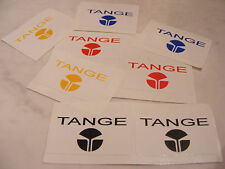 Tange Stickers Decals Old School BMX For Handlebars Seat Post