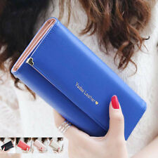 PU Leather Wallet for Fashion Ladies Crown Clutch Purse Women Card Coin Holder