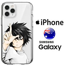 iPhone Silicone Case Cover Death Note L Light Yagami Funny Ryuk Misa FreshPrint