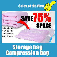 Practical Space Saver Saving Storage Bags Vacuum Seal Compressed Organizer Bag