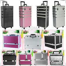 4 in 1 Makeup Vanity Trolley And Extra Large Cosmetic Nail Beauty Jewelry Case