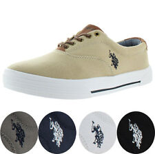 U.S. Polo Assn Skip Men's Canvas Fashion Sneakers Boat Shoes US Sizes