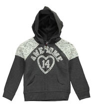 "Star Ride Little Girls' ""Awesome Lace"" Hoodie (Sizes 4 - 6X)"