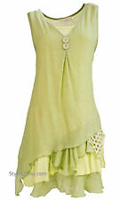 NWT Vintage  Pretty Angel Clothing Apparel Two Piece Knit Top Light Green 69802