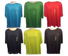Rebook T-Shirt Play Dry Performance Gym Sports Running Fitness Casual Golf Mens