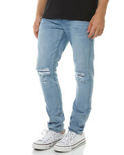 New Neuw Men's Ray Tapered Mens Jean Cotton Fitted Mens Denim Pants Blue
