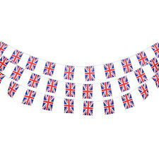 10m Country Flags String Bunting Banner Garland Sports National Day Decor 30Pcs