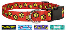 25 - Country Brook Design® Deluxe Dog Collars - Dog's Life Collection