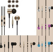 Remote Mic In-Ear Earphone For iPhone Samsung HTC Headphone Stereo 3.5mm