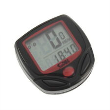 Cycling Bicycle Bike LCD Computer  Odometer Speedometer Stopwatch Speed meter HE