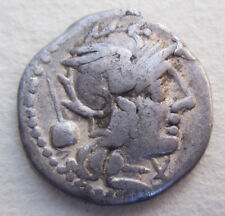 ROMAN REPUBLICAN SILVER COIN ARCHAEOLOGY