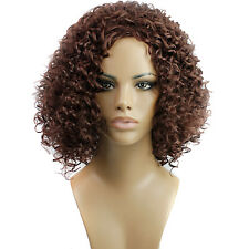"Fashion Wigs Women 18"" Medium Afro Curly Hair Natural Party Sexy Full wigs"