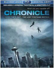 Chronicle (Blu-ray/DVD, 2012, 2-Disc Set,Digital copy+  The Lost Footage Edition
