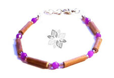Hazelwood Therapeutic Amethyst - Gemstone Bracelet or Anklet #