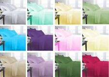 1000TC CAL-KING SIZE BEDDING SET COLLECTION 100% COTTON SELECT NEW SOLID COLOR C