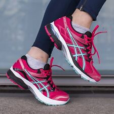 ASICS GEL PULSE 7 WOMENS LADIES NEUTRAL RUNNING FITNESS GYM TRAINERS SHOES SIZES