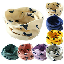 Girls Boys Winter Autumn Neck Collar Baby Scarf Cotton Star O Ring Neck Scarves