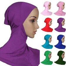 Hijab Styling Full Cover Under Scarf Ninja Inner Plain Hat Cap Bonnet Chemo Hair