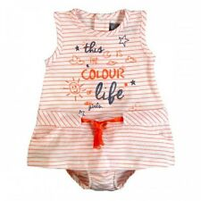 *NEW* BABY GIRLS BOBOLI KNIT DRESS ORANGE WITH BLOOMERS 228091 INFANT OUTFIT