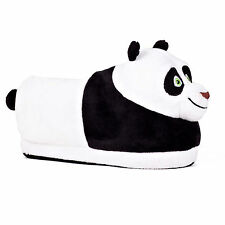 DreamWorks Po Kung-Fu Panda Comfy Full Foot Worm Super Plush Slippers Non-skid