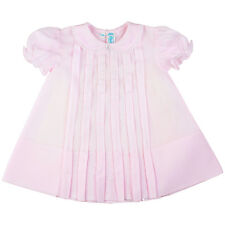 Feltman Brothers Infant Girls Pink Pleated Dress NWT Size NB