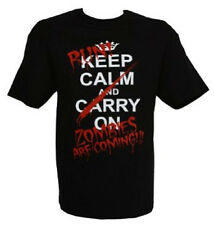 Run Zombies Are Coming Funny T Shirt Keep Calm & Carry On All Sizes/Colors (570)