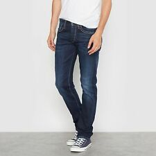 Pepe Jeans Mens Straight Cash Jeans, Length 32