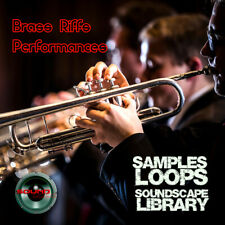 BRASS RIFFS & PERFORMANCES - HUGE unique PRODUCTION LIBRARY 2.4GB on DVD
