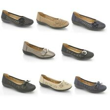 Womens New Flat Shoes Pumps Ballet Ballerina Dolly Slip On Casual Loafers Size
