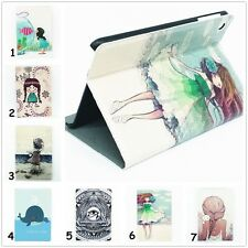 "Cute Girl For iPad Mini 1/2/3 7.9"" Retina Folio Leather Smart Case Cover Stand"