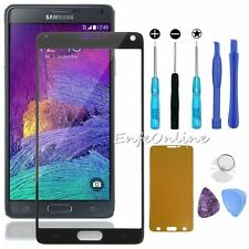 For Samsung Galaxy Note 4 Tools + Front Outer Screen Glass Lens Replacement Part