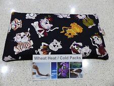 Reduced to clear Large Wheat Heat / Cold Pack 34 x 17cm Bag - Cats Scarves,Hats