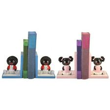 Adorable Dolly Book Ends  Bookends Childrens Baby Nursery Decor