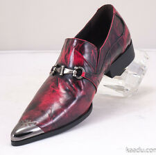 XL161 Clevis Fashion Dress Shoe Loafer Burgundy