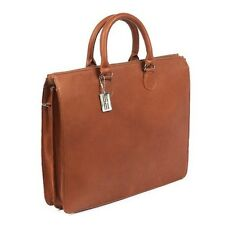 Claire Chase Sarita Leather Laptop Briefcase. Free Delivery
