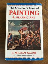 The Observer's Book Of Painting & Graphic Art 1959 Revised Edition