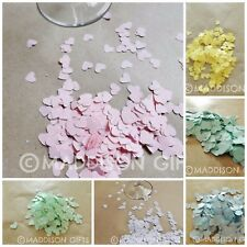 Heart Embellishments Table Confetti Wedding Decorations Paper Crafts Supplies