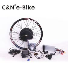 TFT LCD+72V 3000W Hi Speed Electric Bicycle E Bike Hub Motor Conversion kit