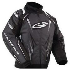 NEW COLDWAVE MENS SNOFIRE SNOWMOBILE JACKET BLACK