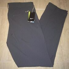 Nike Stripe Novelty Dri fit Golf Pants 585752 010 Gray Men's Many Sizes NEW